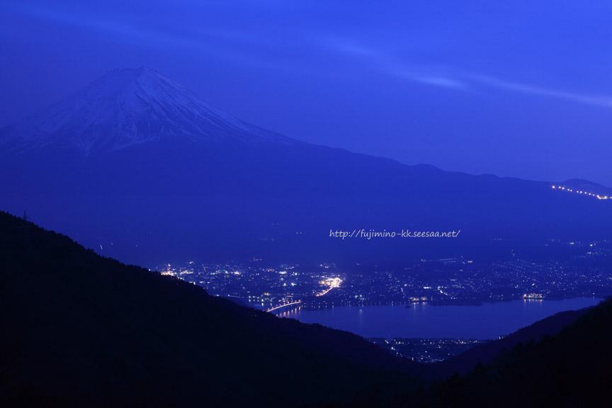 富士山夜景01