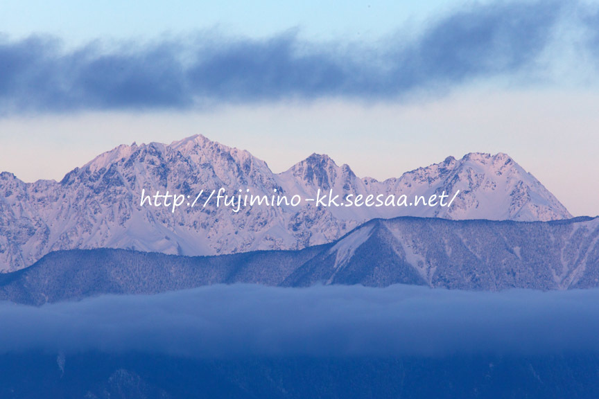 高ボッチ高原からの風景